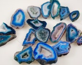 1/2 Strand of Blue Druzy beads ON SALE  18.00 - not in stock but available next week
