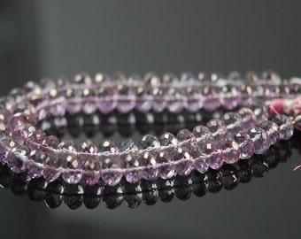 1/2 strand pink mystic quartz rondelles WHOLESALE PRICES. 15.00