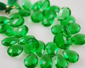 1/2 strand of peridot green quartz WHOLESALE 18.00