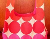 Fabric Grocery Bag - Circles