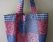 Roll Up Eco Shopper - Patchwork