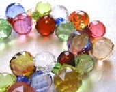Rainbow Faceted Bubbles Necklace