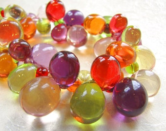 Spring Rainbow Bubbles Necklace