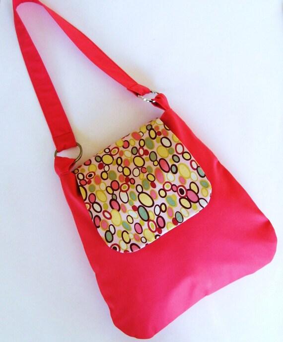 Shoulder Bag Purse - Bangle Dots - Alexander Henry