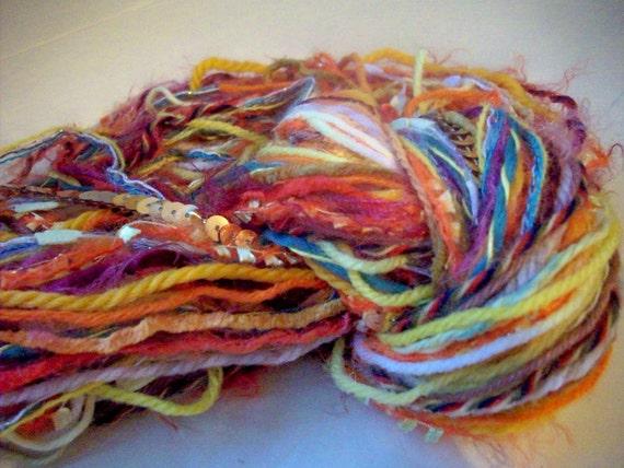 Fiber thread pack  - Tangy Citrus - minimum 60 yards 55 metres