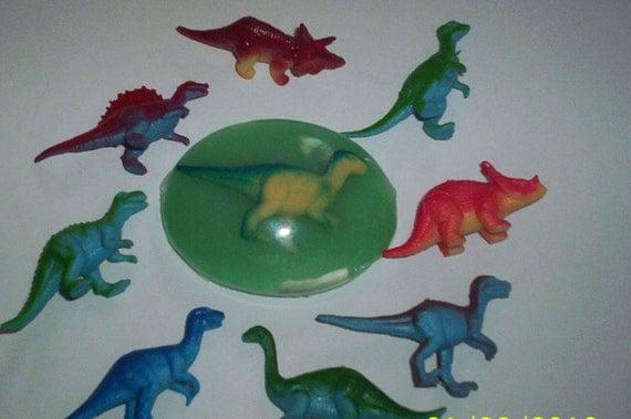 Dinosaur soap  Party favor soaps