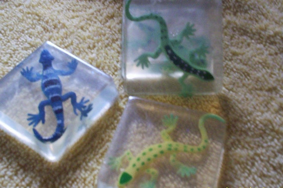Lizards and Snakes  Soaps   20 soaps Reptile Party soaps