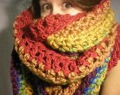 PRE ORDER super-giant-massive rainbow scarf