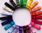 Pick 3 NON SLIP Solid Colored Hair Clips...Over 30 Colors to Pick From...Buy 4 Items Get 5th Free