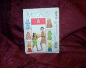 UNCUT McCalls 5419 Girls Summer Wear Shorts Top Dress Sewing Pattern SEWBUSY12
