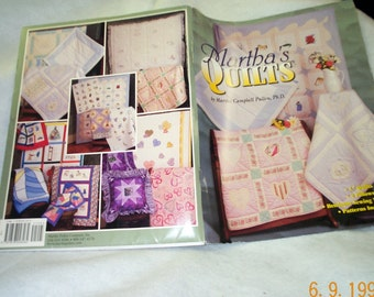 Martha Campbell Pullen Quilt Sewing Patterns Book, 17 Quilts, 2 Pillows, Heirloom Sewing Techniques,Patterns, Autographed, SEWBUSY12