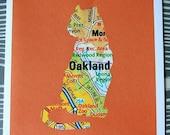 Urban Legends Card-Oakland California