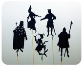 Fairytale Court I Shadow Puppet Set
