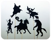 Monster Mash Shadow Puppet Set