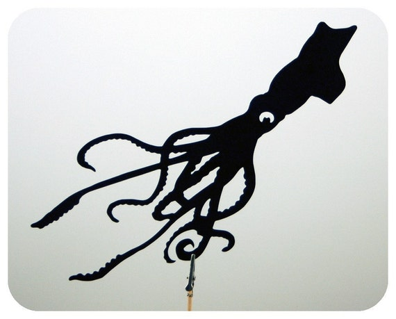 Giant Squid Shadow Puppet
