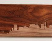 San Francisco Skyline 6x12 - Walnut
