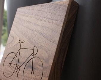 Cycle 7x7 - Walnut