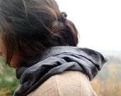 vespertine organic jersey hood cowl