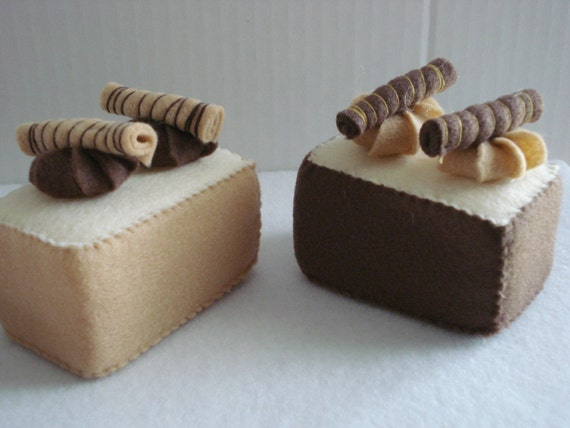 Gourmet Chocolate Felt Teacakes