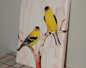 A Pair of Goldies - Gallery wrapped canvas print