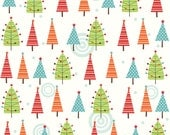 Riley Blake Colorful Christmas holiday / winter fabric by the yard