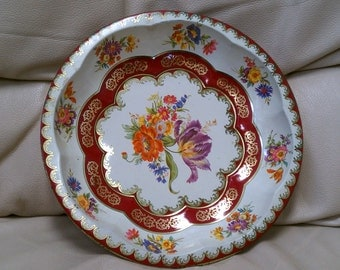 Vintage Daher decorated ware bowl