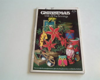 Vintage booklet Christmas with all the trimmings