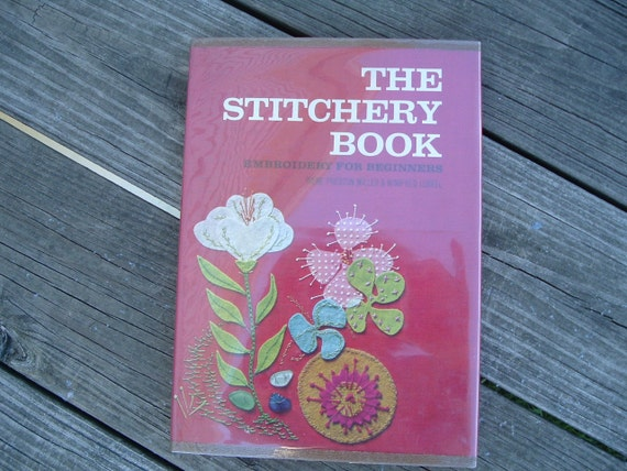 Vintage book The Stitchery book