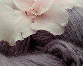 Lavender Angora Blend Recycled Yarn 102 Yards