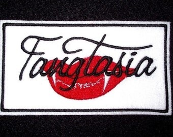 True Blood Fangtasia Patch vampire bar