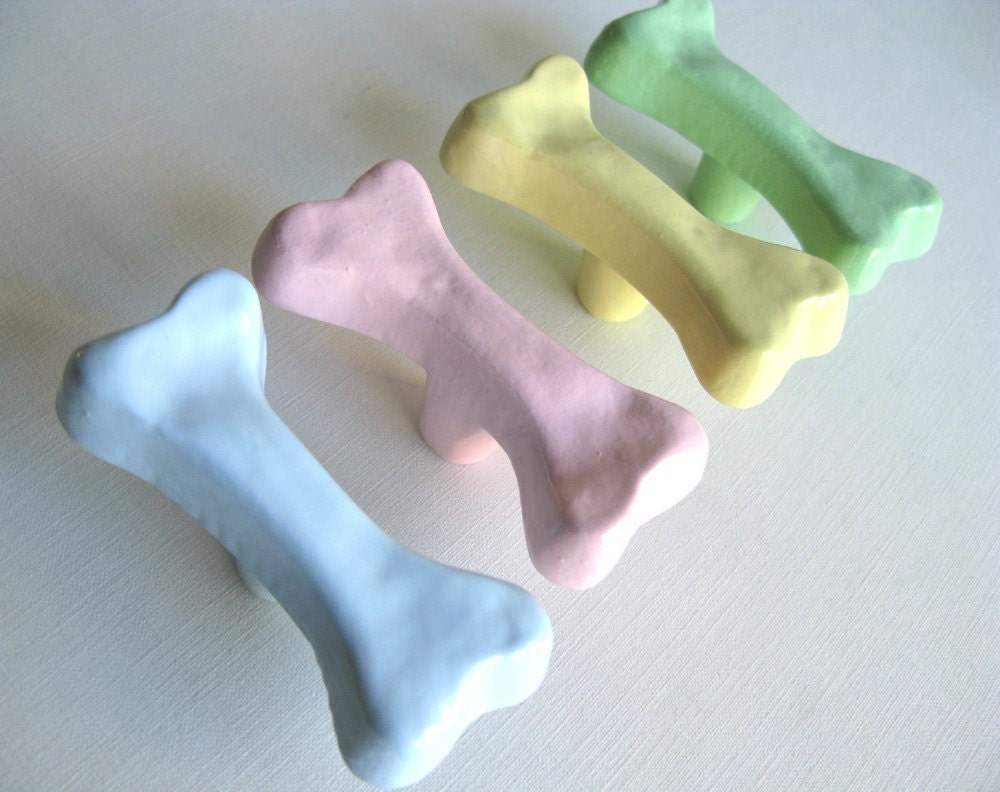Custom Order Dog Bone Drawer Knob
