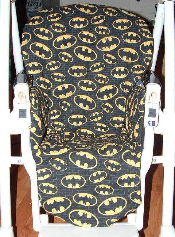Batman Black Prima Pappa Replacement High Chair Cover