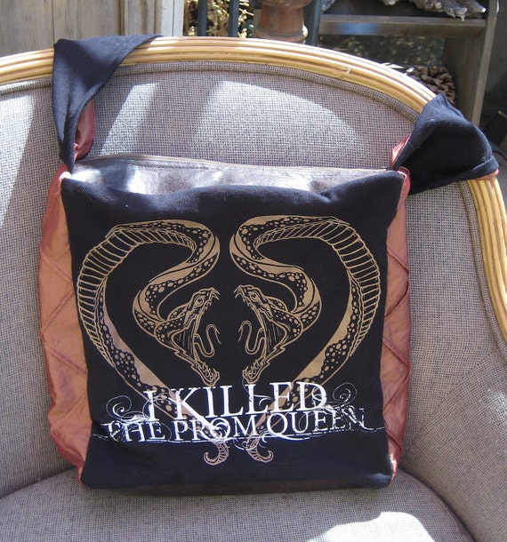 I Killed the Prom Queen snakes purse