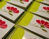 Exotic Lotus Flower Mini Note Cards