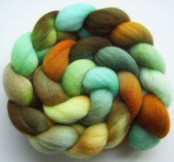 Sutherland - Hand dyed Falkland Combed Top - 4oz