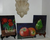 SALE - 3 original paintings for the price of 2 -  Limited time offer