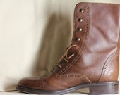 Brown MidCalf  Italian Boot