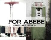 For Abebe