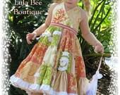 LULA BEE BOUTIQUE XOXO Custom 2-5 EURO Twirl Dress FRESHCUT Spring Summer  Blackout