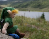 Legend of Zelda, Young Link from Ocarina of Time Needle felt doll
