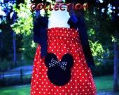 Mickey Minnie pillowcase style dress - size 6 - ready to ship
