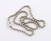 Custom Listing for Margo - 10 Silver Ball Chain Necklaces