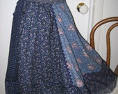 Skirt made from Gunne Sax fabrics for Susan