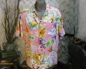 Jams World California vintage mens Summer shirt