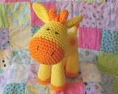 Grant the giraffe gurumi pdf pattern