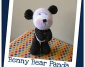 Benny - amigurumi crochet pdf pattern