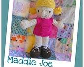 Maddie Joe - Amigurumi knit pdf pattern