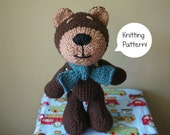 knitting pattern Amigurumi bear - Bourbon