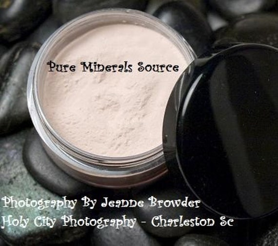 Genesis Mineral Veil Finishing Powder, Gluten Free, Chemical Free Mineral Makeup