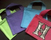 Small Tote (You Pick the Initial and Color)